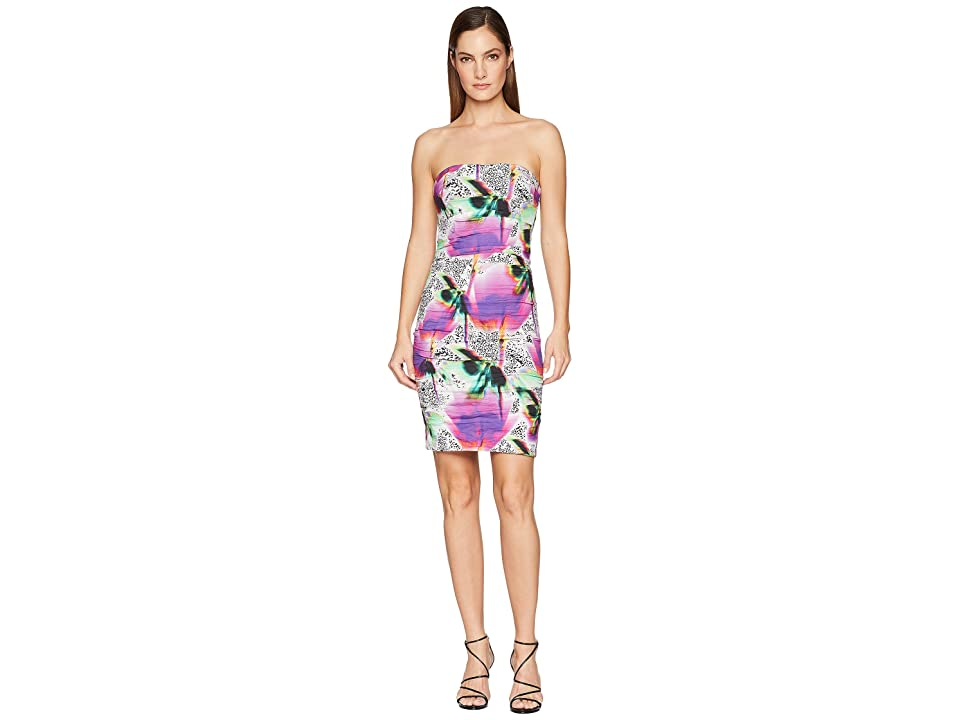 Nicole Miller Strapless Dress (Multicolored) Women