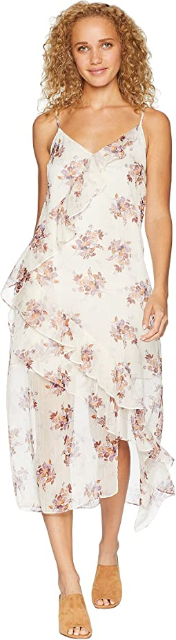 Wildflower Ruffled Slip Dress