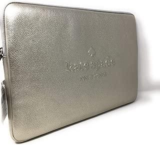 Kate Spade New York Lachmont Avenue Logo Laptop Sleeve (LTMTLCSLVR)