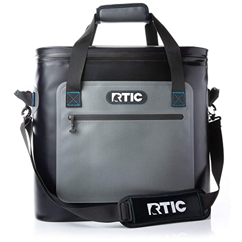 RTIC Soft Cooler Insulated Bag Insulated Bag, Leak, Proof, Zipper, Leak Proof Zipper, Portable Ice Chest Cooler for Travel, Lunch, Work, Cars, Picnics, Beaches & Trips