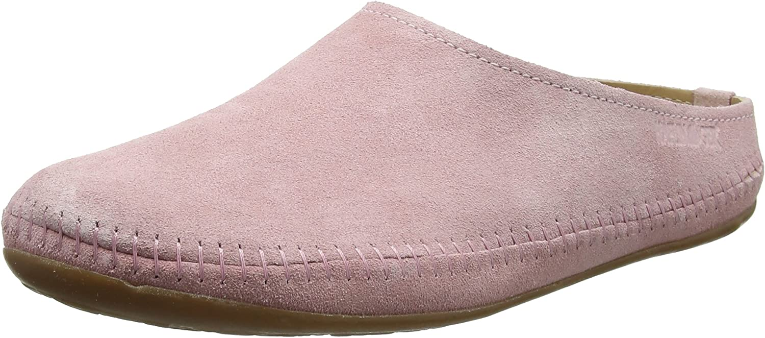 Haflinger Men's Softino Open Back Slippers