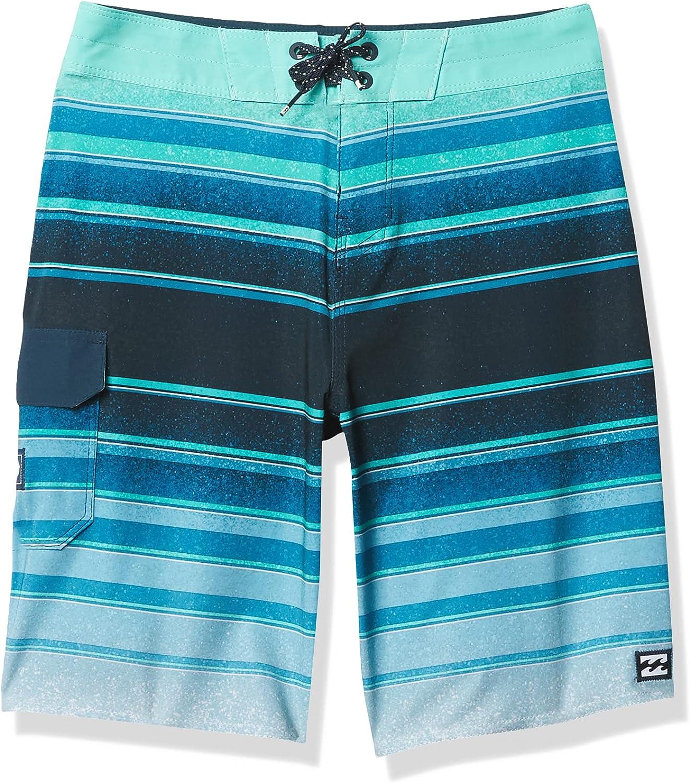 Billabong Boys' All Day Stripe Pro Boardshort