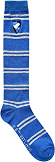 Harry Potter Ravenclaw Striped Juniors/Ladies Knee High Socks with Embroidered Crest