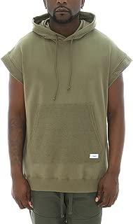 kanye west sleeveless hoodie