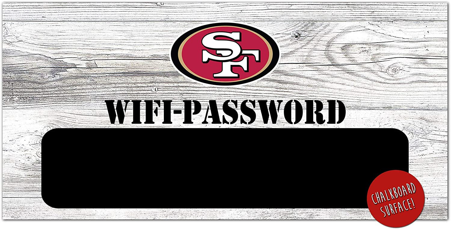 NFL San OFFer Francisco 49ers WiFi Password Unisex Selling and selling