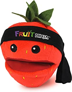 Discontinued by manufacturer Fruit Ninja 5 Bomb Plush with Bomb Sound and Bandana