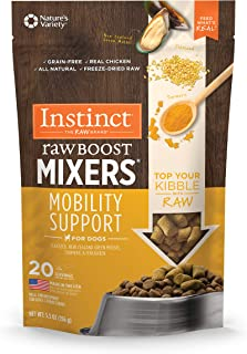 Instinct Freeze Dried Raw Boost Mixers Grain Free Recipes All Natural Dog Food Toppers Made with Functional Ingredients