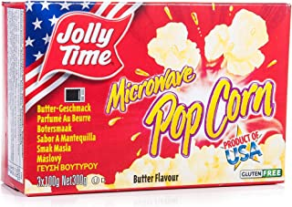 Jolly Time Microwave Butter Popcorn - 298 gm