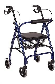 HealthSmart 501-1012-2100HS - Andador de ruedas de aluminio ...