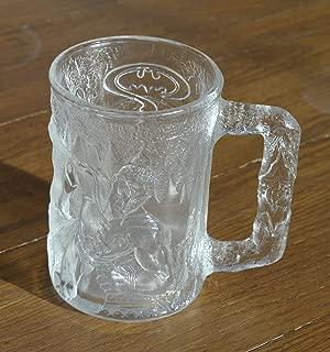 McDonalds Batman Forever Robin Glass Mug Made in France