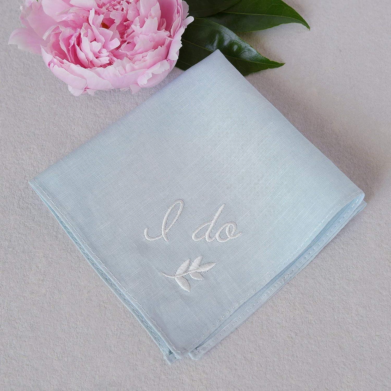 Style Me Pretty Handkerchief, Small, Blue