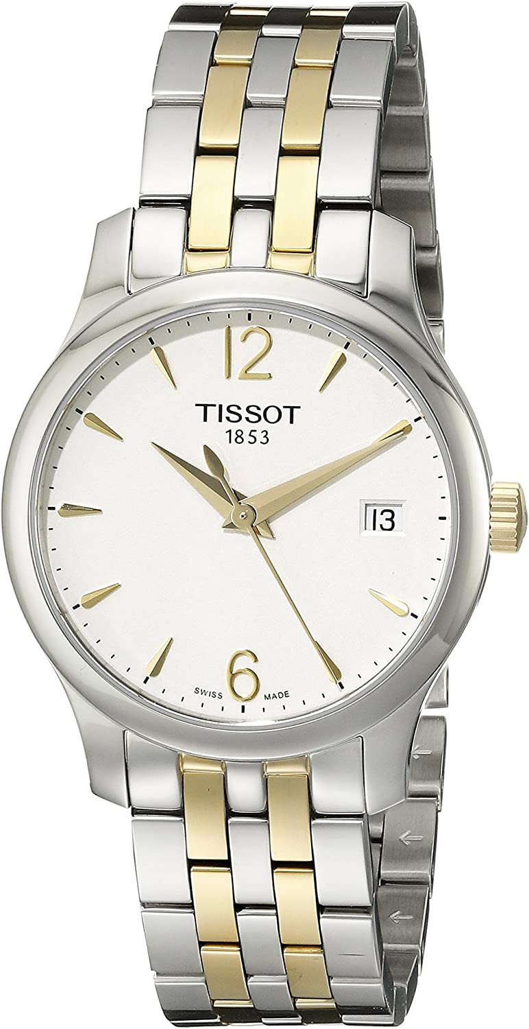 Tissot Discount mail order Women's T0632102203700 Tradition Qua Display Swiss Free Shipping New Analog