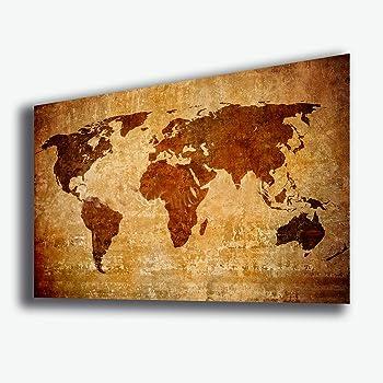 QUADRO MODERNO PAPER OF THE WORLD QUADRI MODERNI ARREDAMENTO CASA ARREDARE TELE