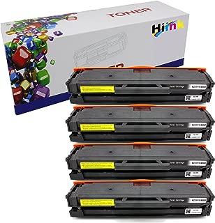 HIINK Compatible Toner Cartridge for Samsung MLT-D111S 111S Toner Cartridge Use in Xpress SL-M2020W, SL-M2022, SL-M2022W, M2070, SL-M2070FW, SL-M2070W(Black, 4-Pack)