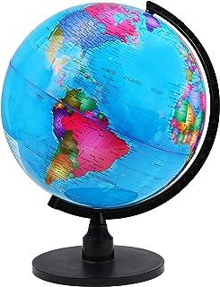 لعبة الكرة الأرضية الدوارة بقطر 33 سم من آي كيو تويز، مناسبة للمكاتب والفصول الدراسية، والتعلم الجغرافي للأطفال
