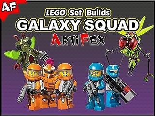 Clip: Lego Set Builds Galaxy Squad  - Artifex