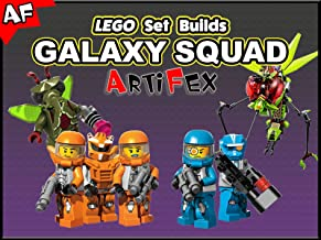 Clip: Lego Set Builds Galaxy Squad - Artifex