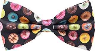 Carahere Mens Handmade Stylish Patterned Pre-Tied Bow Ties M126