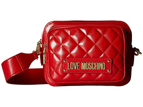 LOVE Moschino Shiny Quilted Crossbody