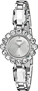 Guess joyería plateada de la mujer Sparkle Reloj