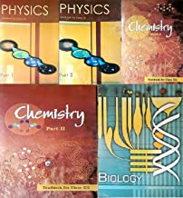 NCERT textbooks class 12th physics part 1 2 chemistry part 1 2 and biology combo 2020 editionpack of 5 books