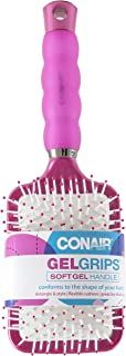 Conair Gel Grips Paddle B Size Ea Conair Gel Grips Paddle Brush 1ct (Colors & style may vary)