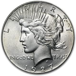 1927 Peace Dollar BU $1 Brilliant Uncirculated