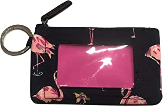 Vera Bradley Women's Zip ID Case (Flamingo Fiesta)
