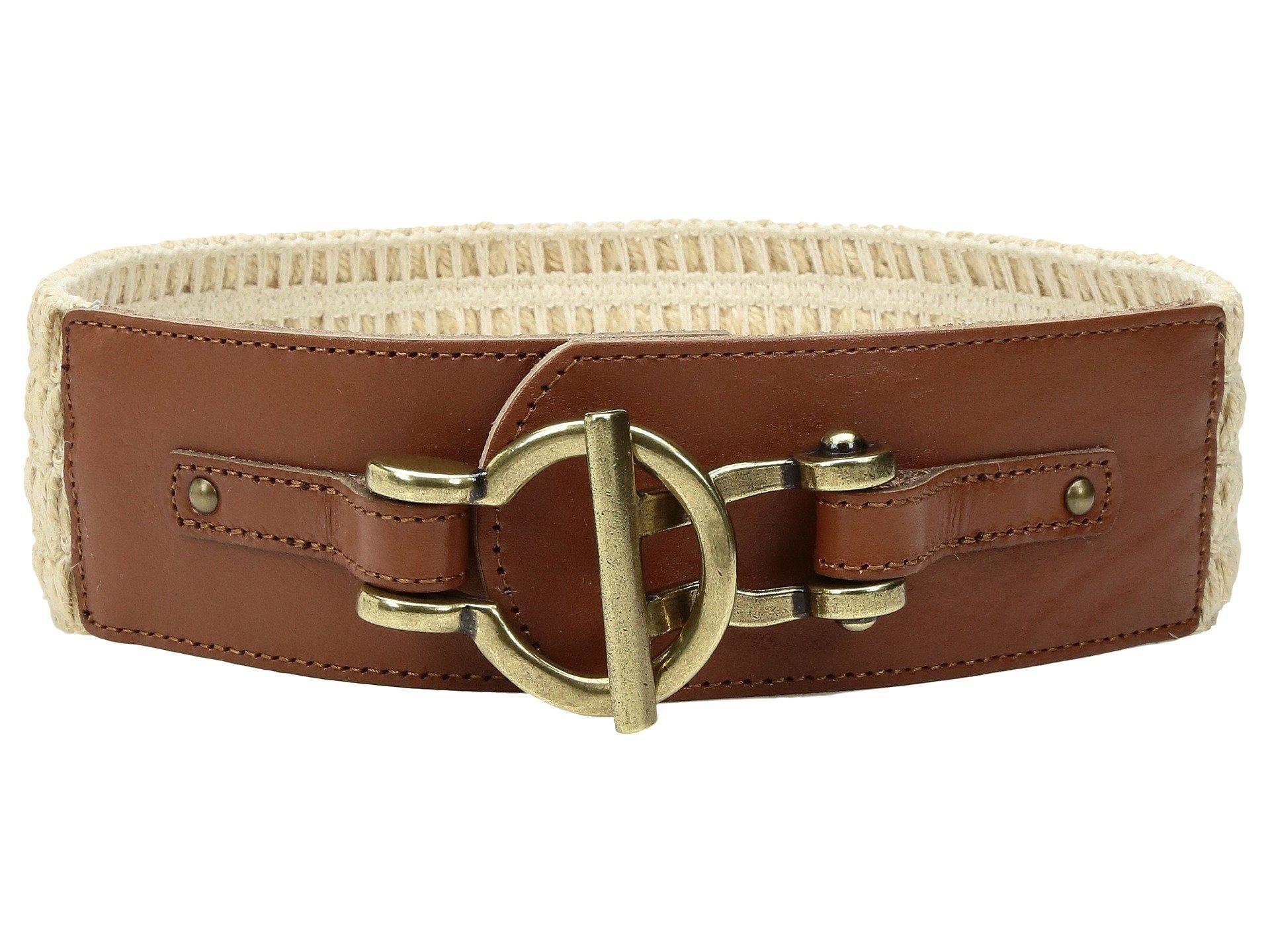 Correa o Cinturon para Mujer Fossil Macrame Stretch Belt  + Fossil en VeoyCompro.net