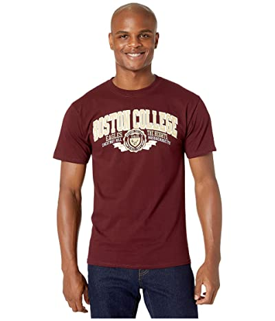 Champion College Boston College Eagles Jersey Tee (Maroon 3) Men