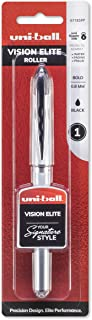 PILOT G2 Premium Refillable & Retractable Rolling Ball Gel Pens, Fine Point, Black Ink, 12 Count (31020) Papermate Inkjoy Gel Pens, Fine Point (0.5mm), Assorted Colors Gel Ink Rollerball Pen (1988991) uni-ball Vision Elite Rollerball Pen, Bold Point (0.8mm), Black, 1 Count