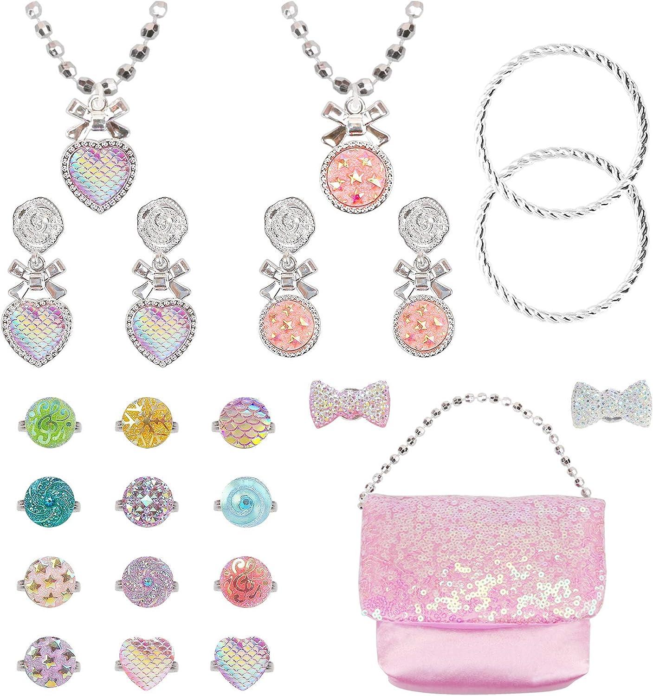 NINAOR Princess Jewelry 2021 Toys Challenge the lowest price 23 Play Pretend Pcs T Girls