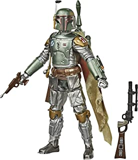 Star Wars The Black Series Carbonized Collection Boba Fett - Figura De 15 cm Inspirada em Star Wars - E9927 - Hasbro