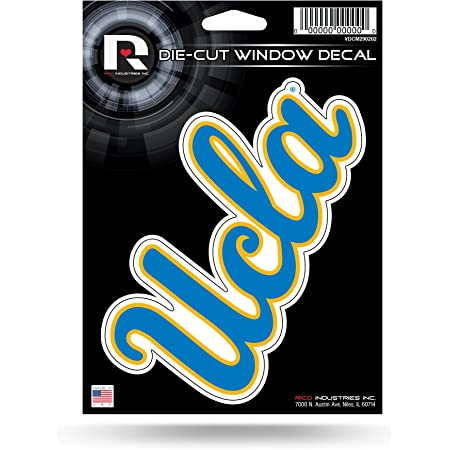 WinCraft NCAA UCLA WCR26969014 Chrome Decal 3 x 7
