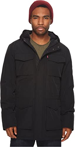 Levi's® - Arctic Cloth Hooded Parka with Soft Sherpa Lining