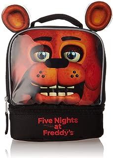 """Five Nights at Freddy's B18FI38775TU Drop Bottom Lunch Bag, 5"""", Multicolor"""