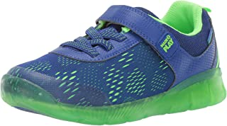 Stride Rite Unisex Boy's and Girl's Stride Rite Made2Play Lighted Neo Sneaker