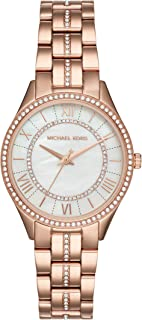 Michael Kors Lauryn Women's White Dial Stainless Steel Analog Watch - MK3716
