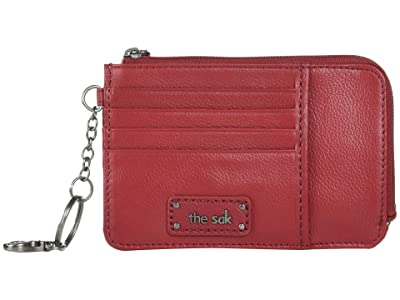 The Sak Iris Card Wallet (Scarlet) Wallet Handbags
