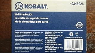 Kobalt Wall Bracket Kit - for use with Kobalt cabinets and K-rail