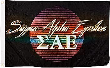 Sigma Alpha Epsilon 80's Letter Fraternity Flag Banner 3 x 5 Feet Sign Decor SAE