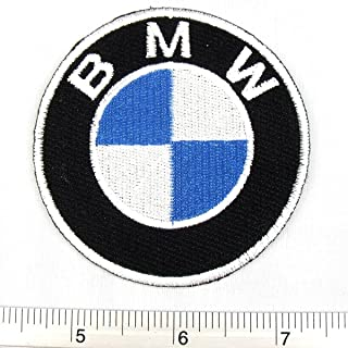 BMW Germany Racing Car Team Iron on Patch Embroidered Racing DIY T-shirt Jacket 2.75x2.75