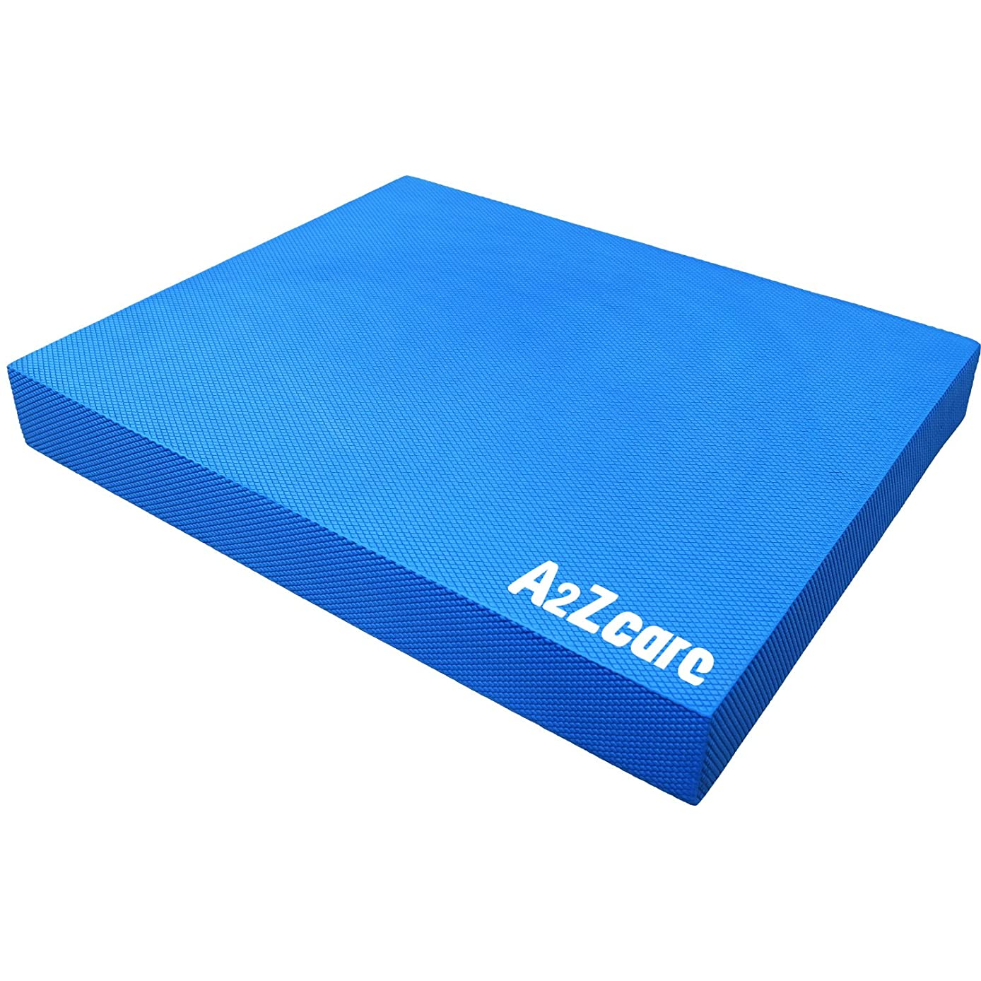 A2ZCARE Premium Quality Balance Pad - Super Soft Pad Provides A Non-Slip Textured Surface (Guideline Included)