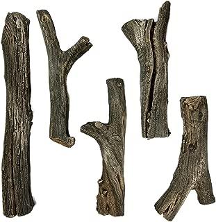 Best ceramic driftwood logs Reviews