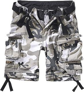 Savage Vintage Shorts Pantalones Cortos para Hombre