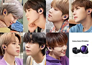 Samsung Galaxy Buds+ Plus SM-R175N | BTS Limited Version (PURPLE) | Limited Photo Cards