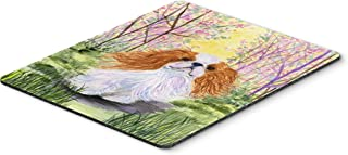 Caroline's Treasures SS8613MP English Toy Spaniel Mouse Pad, Hot Pad or Trivet, Large, Multicolor