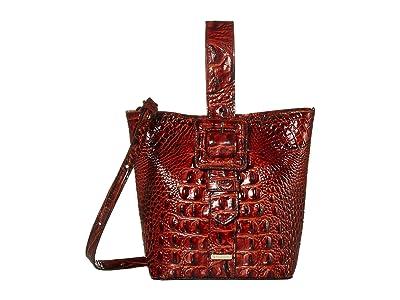 Brahmin Melbourne Faith Shoulder Bag (Pecan) Shoulder Handbags