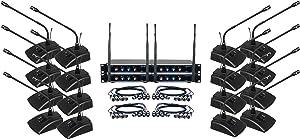 VocoPro, 16 Wireless Microphone System, XLR Connector (DIGITALCONF16)