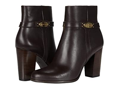 MICHAEL Michael Kors Finley Ankle Boot (Chocolate) Women